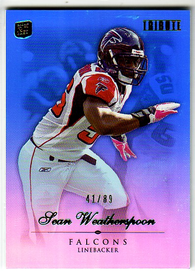 2010 Topps Tribute Blue #9 Sean Weatherspoon