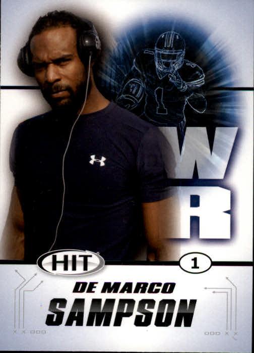 2011 SAGE HIT #1 DeMarco Sampson