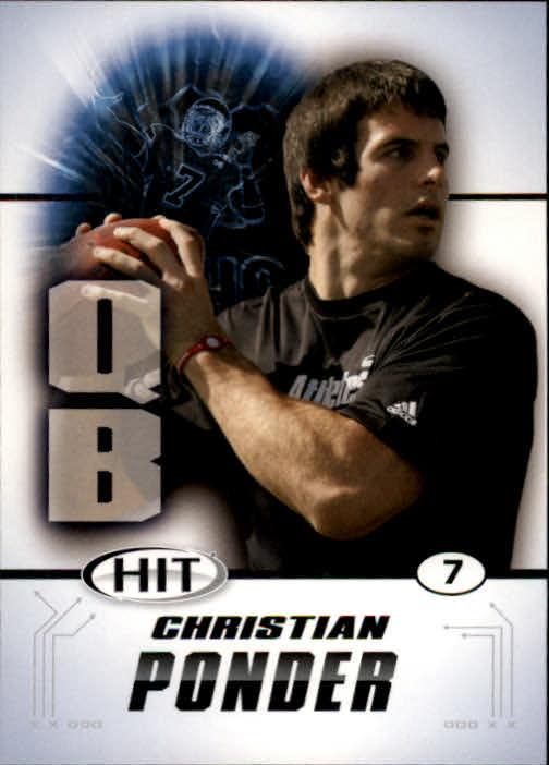 2011 SAGE HIT #7 Christian Ponder