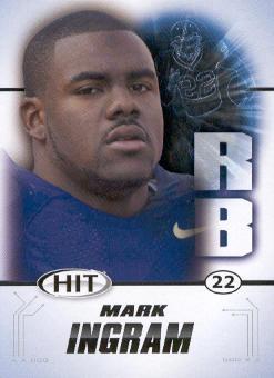 2011 SAGE HIT #22 Mark Ingram