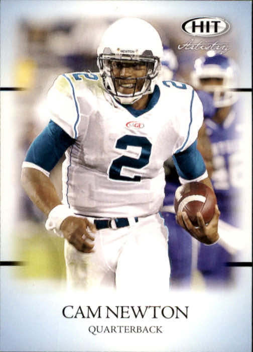 2011 SAGE HIT #57 Cam Newton Art