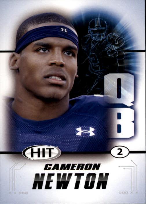 2011 SAGE HIT #100A Cam Newton Blue