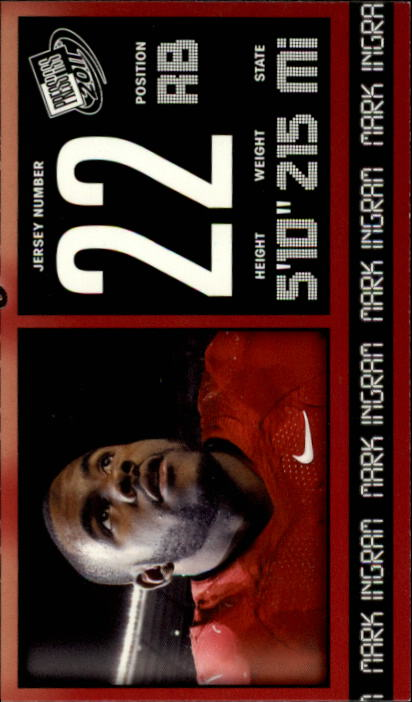 2011 Press Pass #2 Mark Ingram