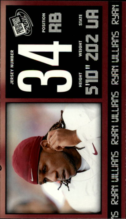 2011 Press Pass #26 Ryan Williams