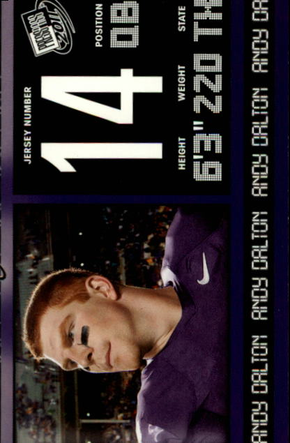 2011 Press Pass #38 Andy Dalton