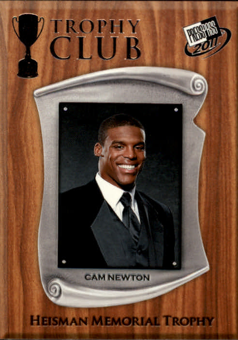 2011 Press Pass #57 Cam Newton TC