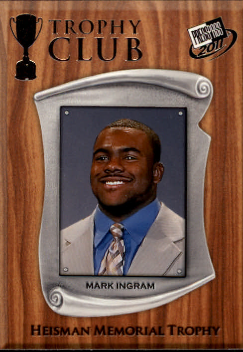 2011 Press Pass #58 Mark Ingram TC
