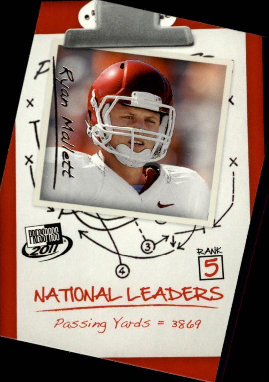 2011 Press Pass #64 Ryan Mallett NL