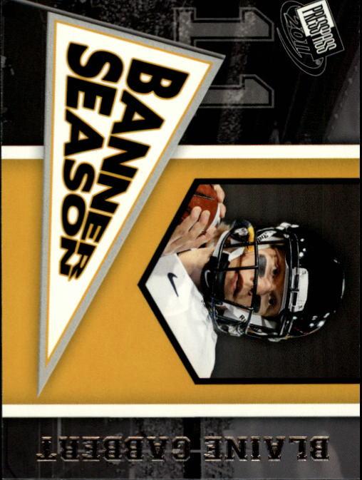 2011 Press Pass #81 Blaine Gabbert BS