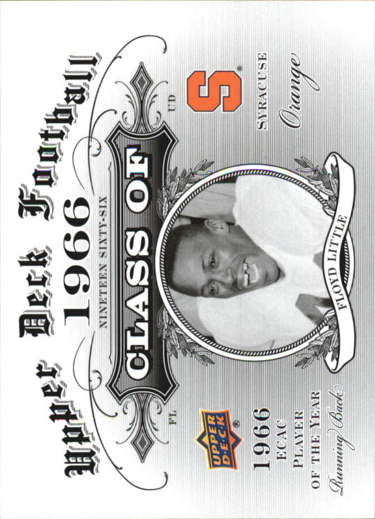 2011 Upper Deck Class Of #CO15 Floyd Little