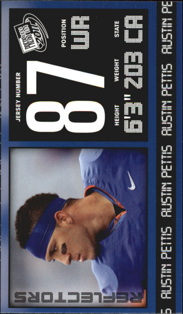 2011 Press Pass Reflectors Blue #7 Austin Pettis