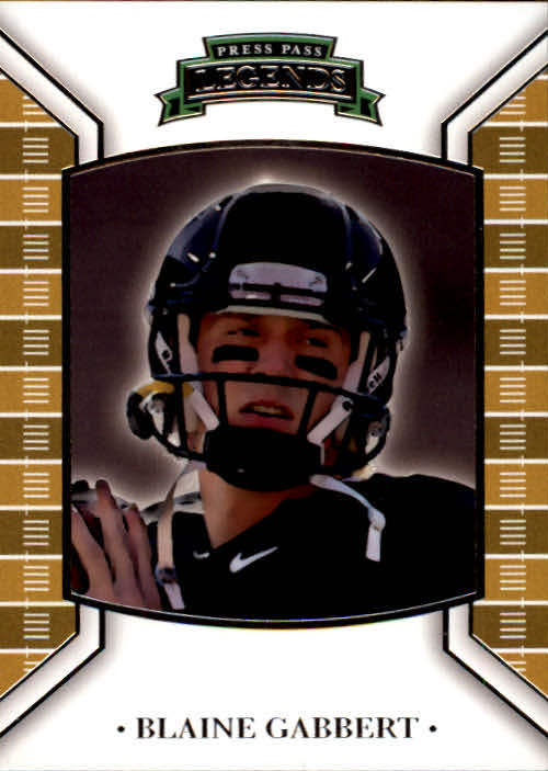 2011 Press Pass Legends #1 Blaine Gabbert