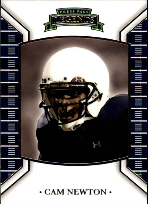 2011 Press Pass Legends #2 Cam Newton