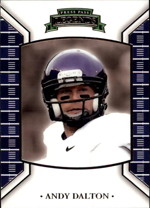 2011 Press Pass Legends #5 Andy Dalton