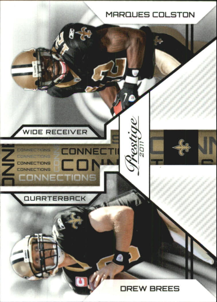 2011 Prestige Connections #10 Drew Brees/Marques Colston