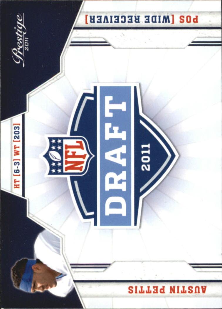 2011 Prestige NFL Draft #3 Austin Pettis