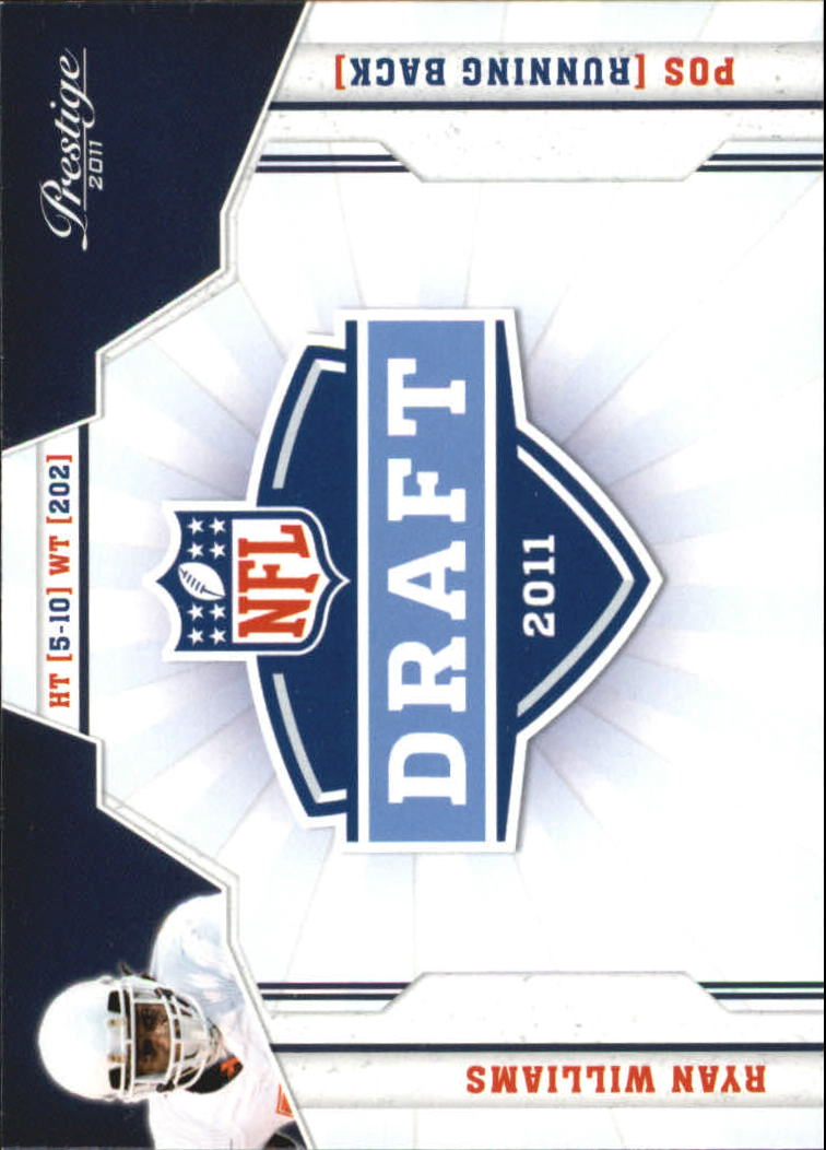 2011 Prestige NFL Draft #35 Ryan Williams