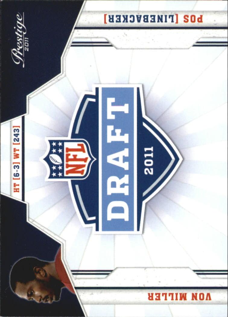 2011 Prestige NFL Draft #40 Von Miller