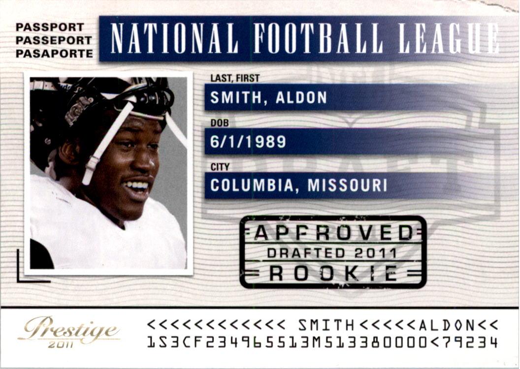 2011 Prestige NFL Passport #5 Aldon Smith