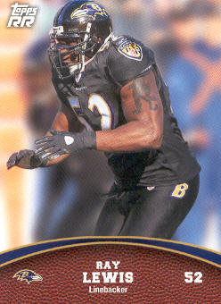 2011 Topps Rising Rookies #47 Ray Lewis