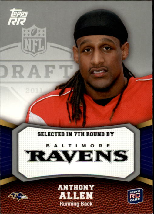 2011 Topps Rising Rookies #176 Anthony Allen RC