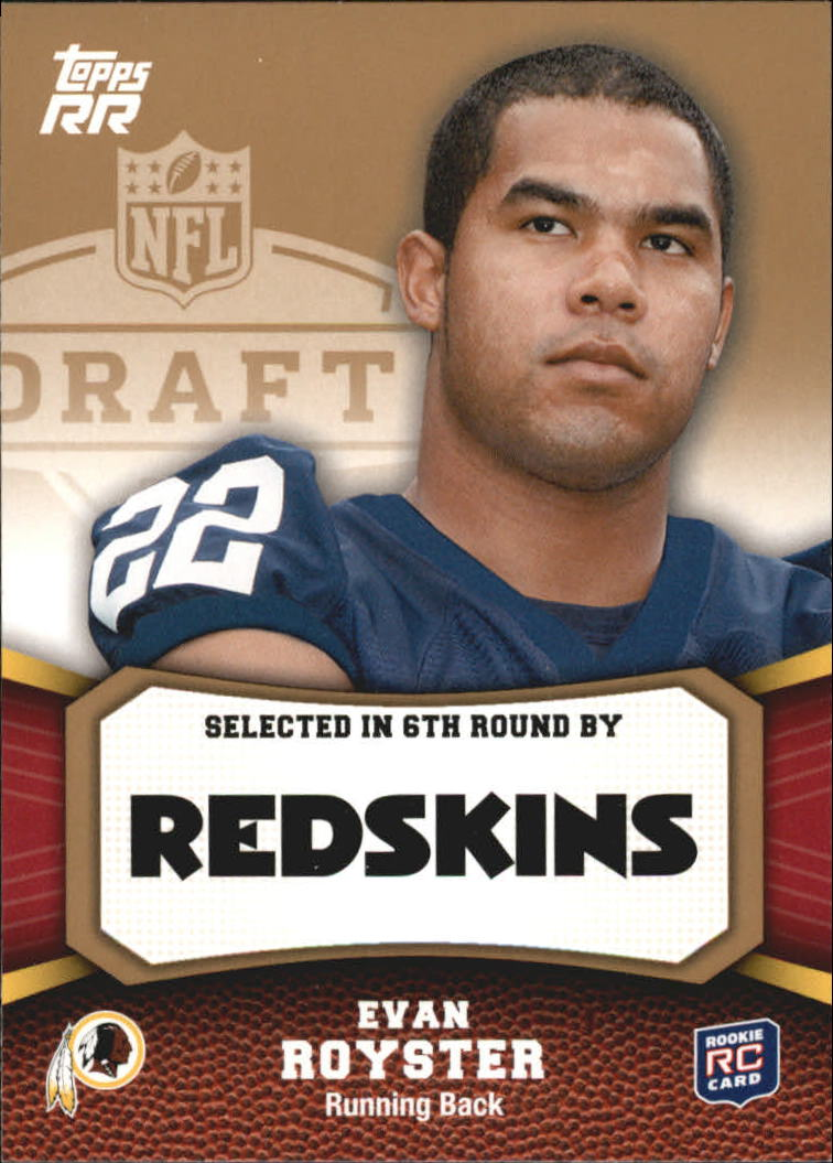 2011 Topps Rising Rookies Gold #191 Evan Royster