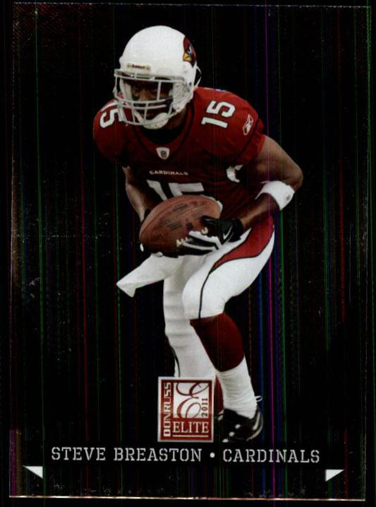 2011 Donruss Elite #3 Steve Breaston
