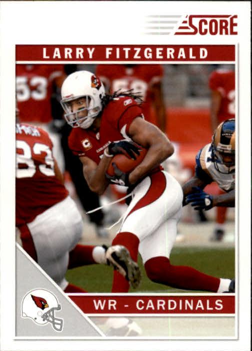 2011 Score #7 Larry Fitzgerald