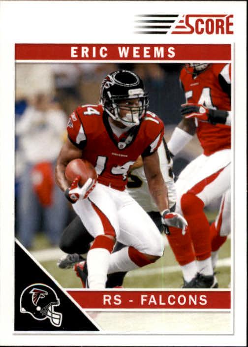 2011 Score #12 Eric Weems RC