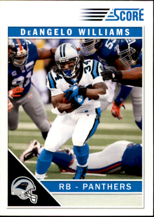 2011 Score #41 DeAngelo Williams