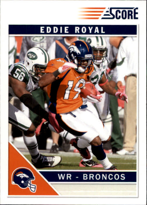 2011 Score #87 Eddie Royal