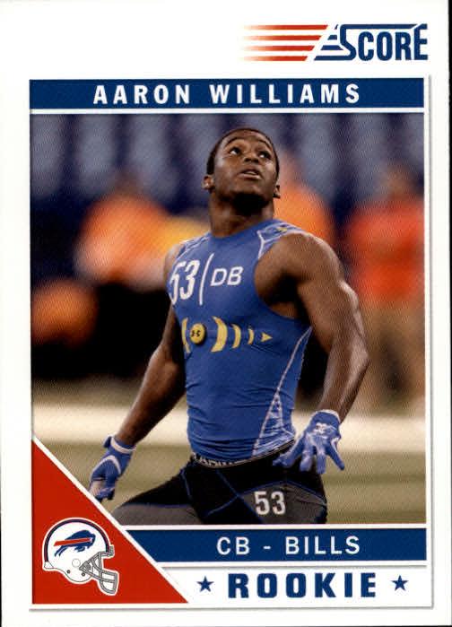 2011 Score #302 Aaron Williams RC