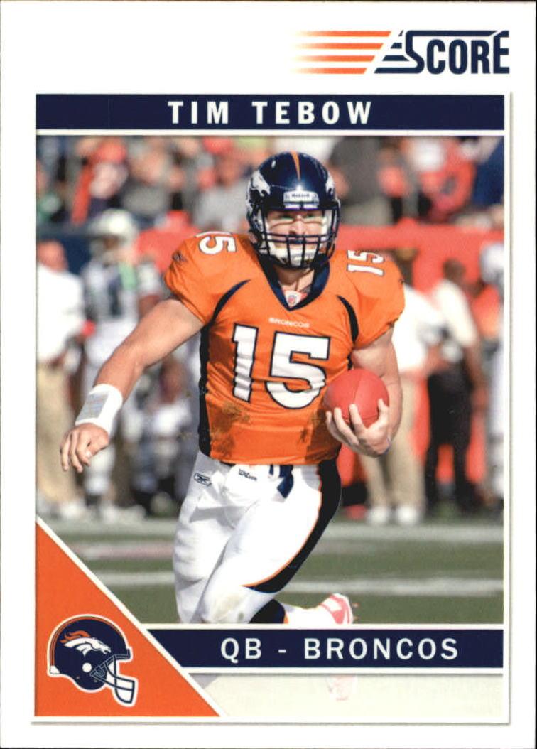 2011 Score Glossy #92 Tim Tebow