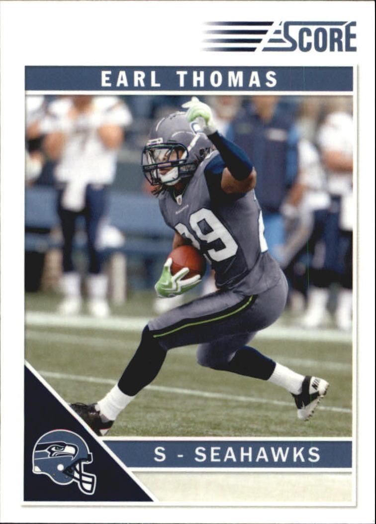 2011 Score Glossy #257 Earl Thomas