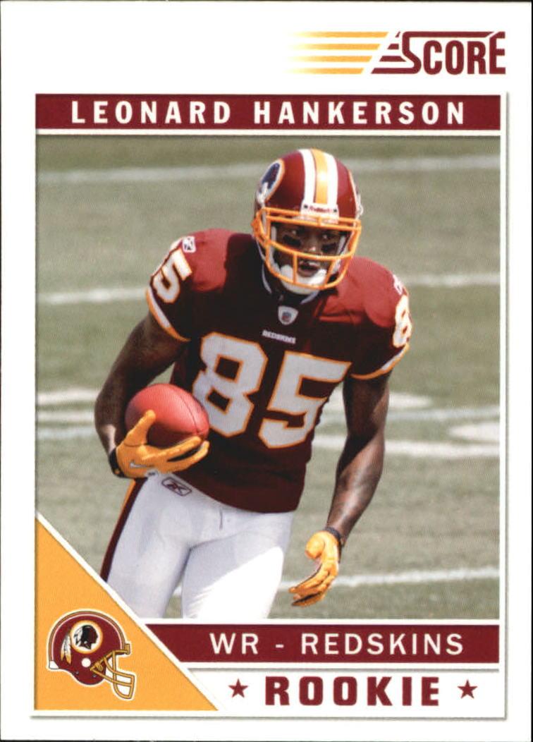 2011 Score Glossy #358 Leonard Hankerson