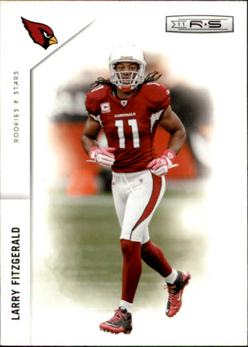 2011 Rookies and Stars #2 Larry Fitzgerald