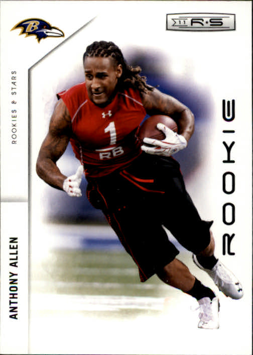 2011 Rookies and Stars #160 Anthony Allen RC