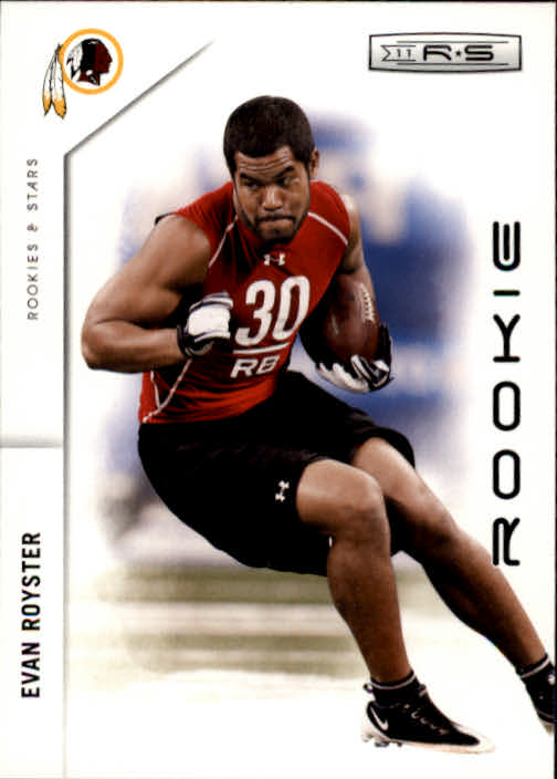 2011 Rookies and Stars #189 Evan Royster RC