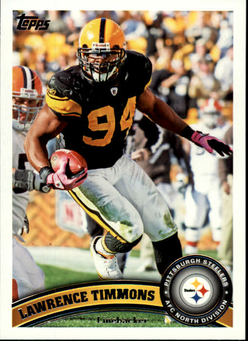 2011 Topps #129 Lawrence Timmons