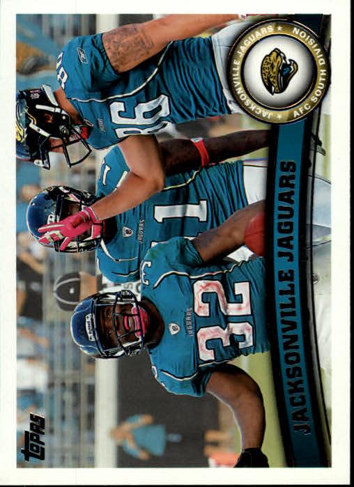 2011 Topps #401 Jacksonville Jaguars Team/Maurice Jones-Drew/David Garrard/Zach Miller