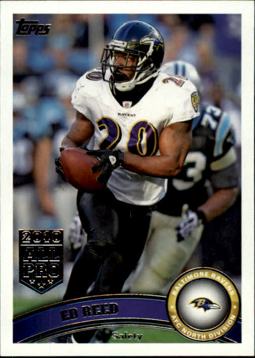 2011 Topps #408 Ed Reed