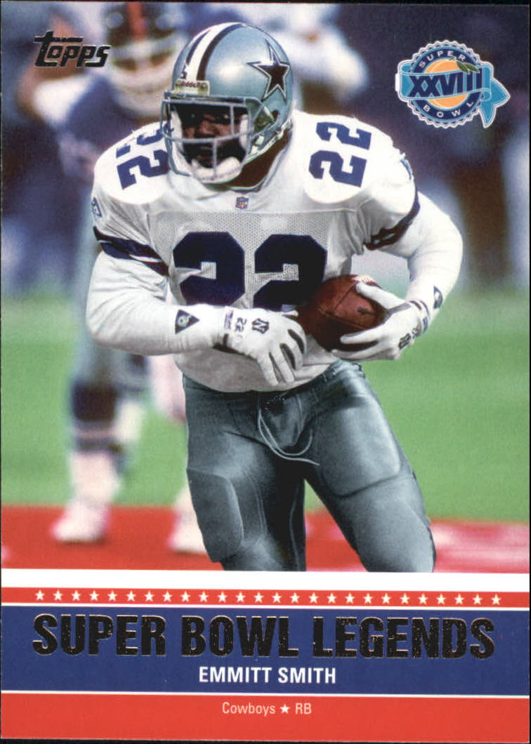 2011 Topps Super Bowl Legends #SBLXXVIII Emmitt Smith