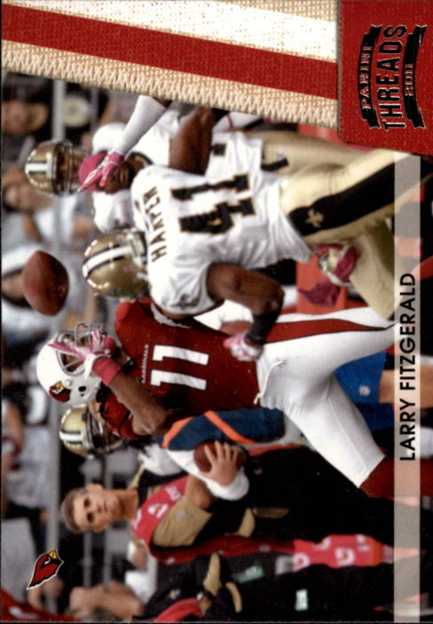 2011 Panini Threads #2 Larry Fitzgerald