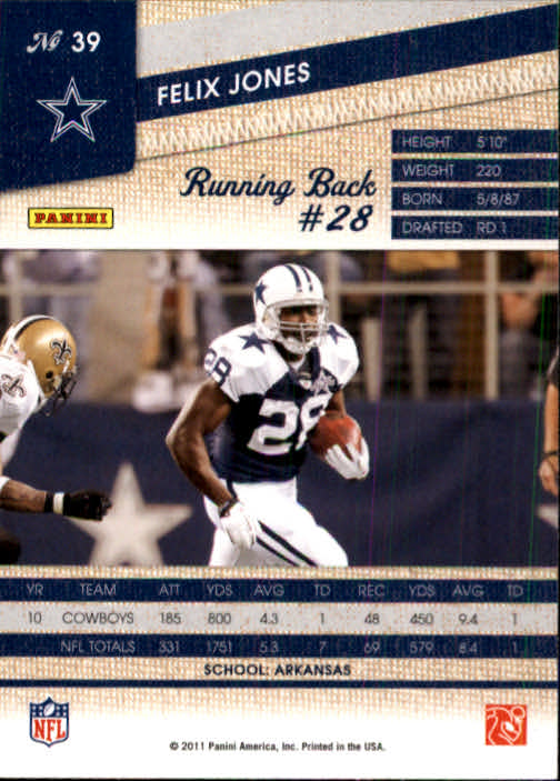 2011-Panini-Threads-Football-Card-Pick