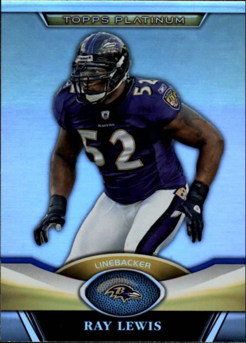 2011 Topps Platinum #41 Ray Lewis