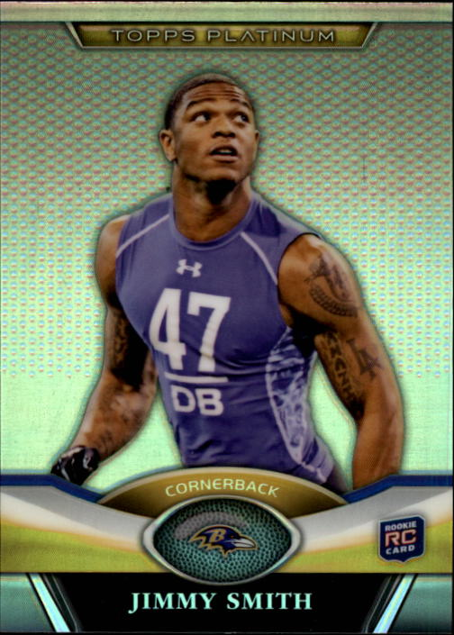 2011 Topps Platinum #51 Jimmy Smith RC