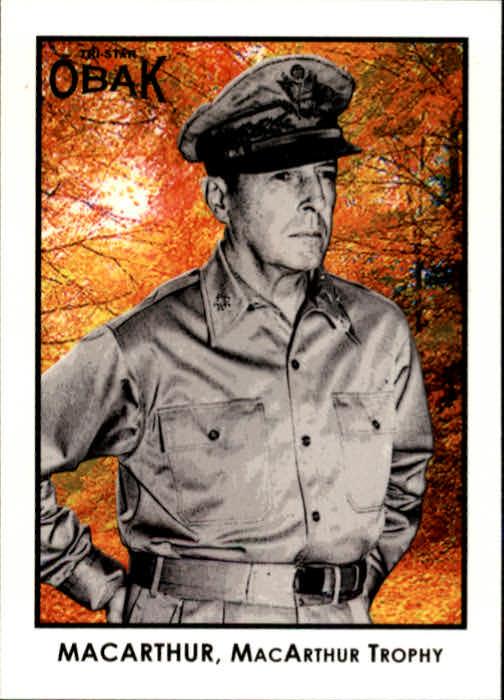 2011 TRISTAR Obak #30 Douglas MacArthur