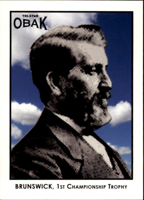 2011 TRISTAR Obak #68 John Moses Brunswick