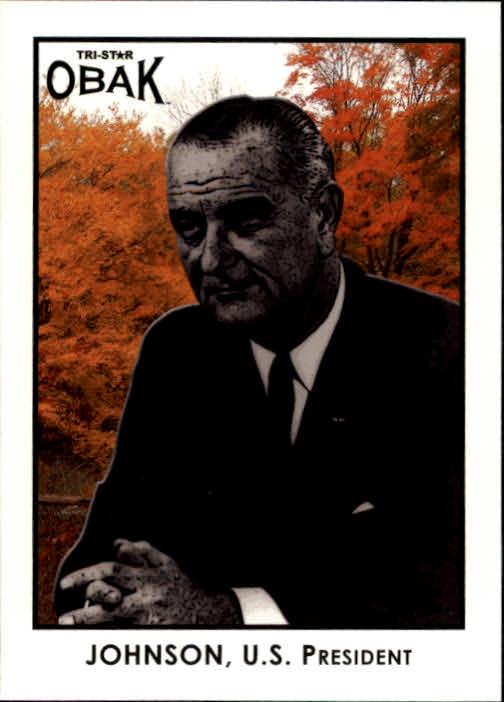 2011 TRISTAR Obak #98 Lyndon B. Johnson