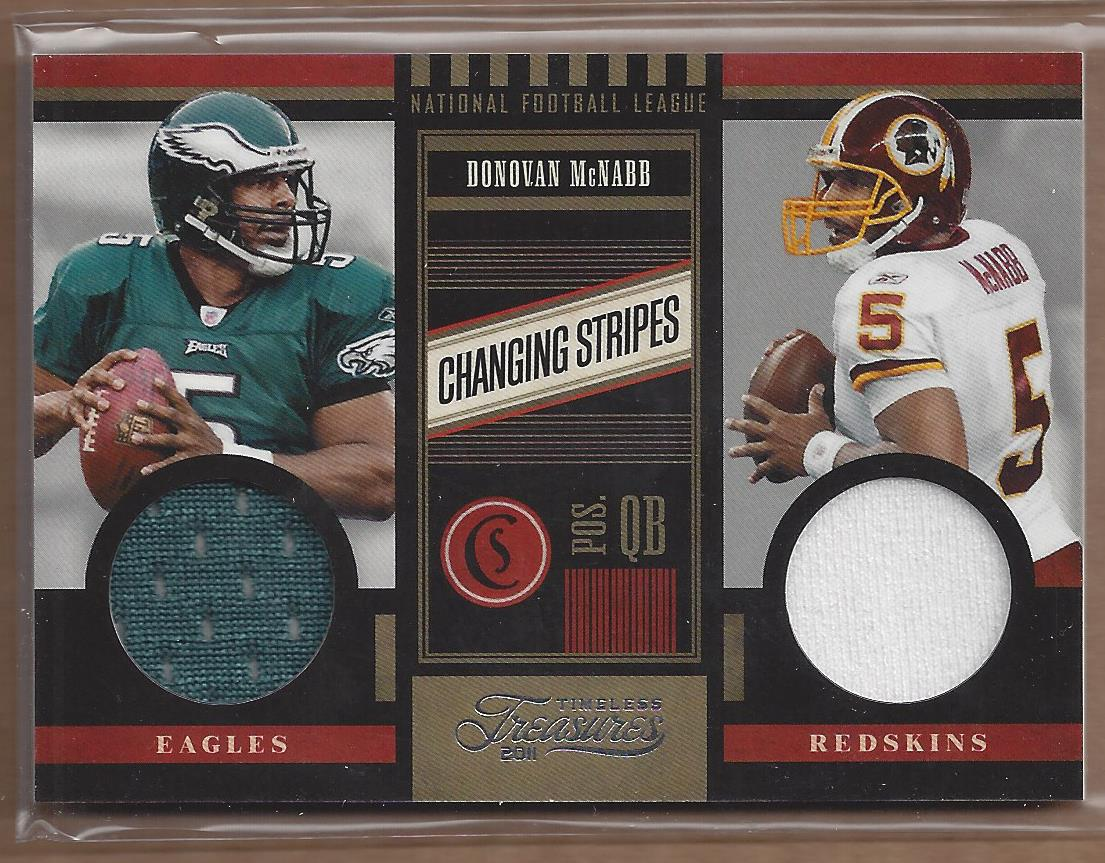 2011 Timeless Treasures Changing Stripes #7 Donovan McNabb/249